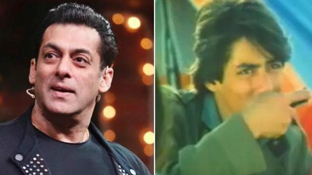 Salman Khan appeared in a cold drink commercial when he was in his teens.