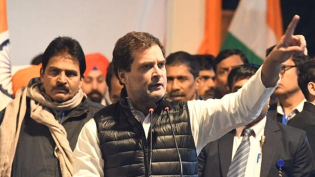 Rahul Gandhi's visit to Assam is part of the Congress party's series of nationwide protests against the Citizenship (Amendment) Act (CAA) and NRC. ( Photo @INCIndia)
