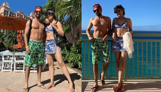 Ayushmann Khurrana and wife Tahira Kashyap are holidaying in The Bahamas these days.