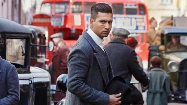 Vicky Kaushal clicked while shooting for the Sardar Udham Singh biopic in St Petersburg.