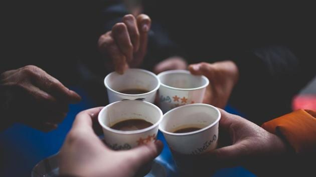 The new cups tailor-made for Air New Zealand have been brought out in vanilla flavor and are resistant to melting from warm fluids, such as coffee.(Unsplash)