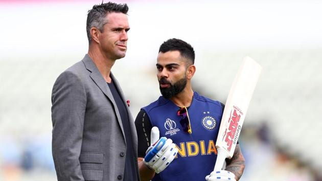 Kohli shared the dressing room with Kevin Pietersen when they played together for RCB(Getty Images)