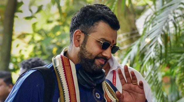 File image of India cricketer Rohit Sharma.(PTI)