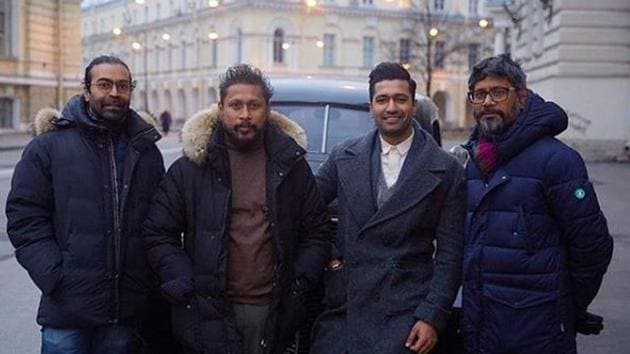 Vicky Kaushal and Shoojit Sircar announced that their film on freedom fight Udham Singh had been wrapped.(Instagram)