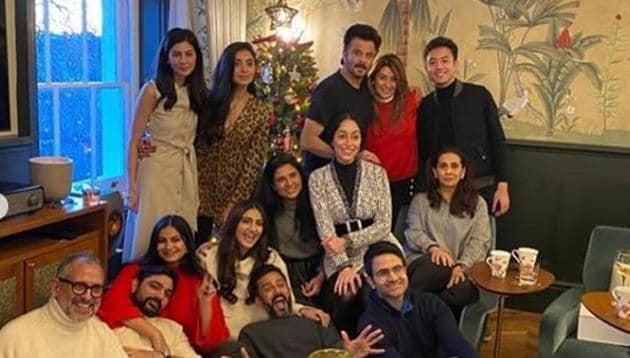 Sonam Kapoor celebrated Christmas in London in company of her family.(Instagram)
