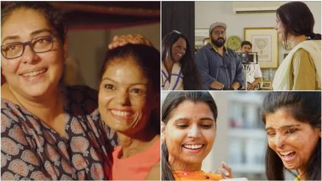 Meghna Gulzar and Deepika Padukone worked with real-life acid attack survivors during Chhapaak.