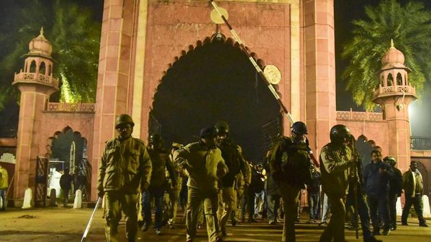 A fact-finding team of lawyers and rights activists, the People's Union for Democratic Rights (PUDR), on Thursday released a report on police action at the Aligarh Muslim University during the protests against the Citizenship (Amendment) Act and the National Register of Citizens on December 15.(PTI Photo (Representative))