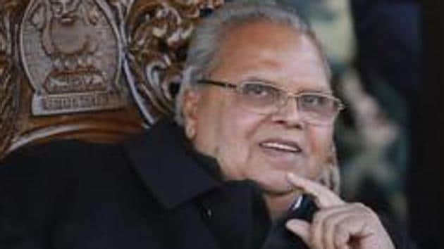 Former Jammu and Kashmir Governor claims detained Kashmiri leaders had lost their relevance on the ground.(PTI Photo/File)