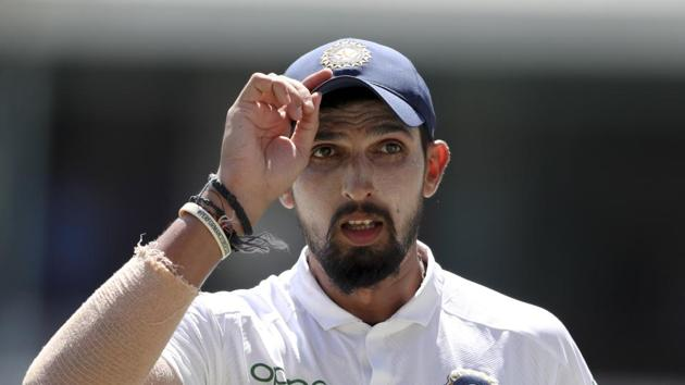 File image of India cricketer Ishant Sharma.(AP)