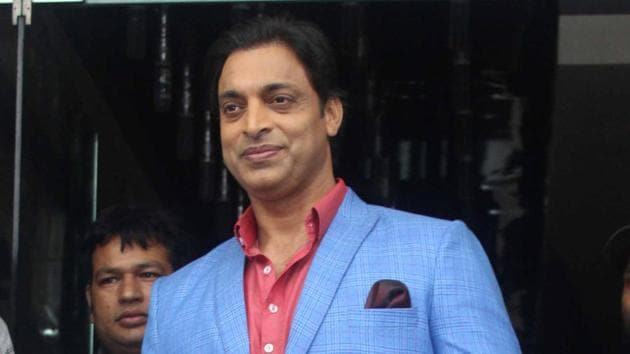 File image of former Pakistan cricketer Shoaib Akhtar.(Yogen Shah)