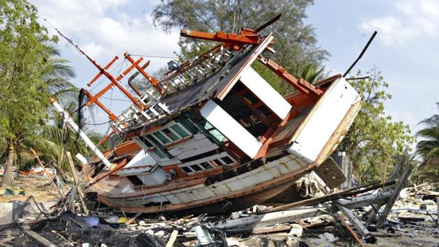 Hundreds of survivors of the Indian Ocean tsunami gathered on the beaches of Tamil Nadu on Thursday to mourn relatives and friends who died when giant tidal waves crashed into coastal villages of the state on this day 15 years ago,(AP Photo (Representational))