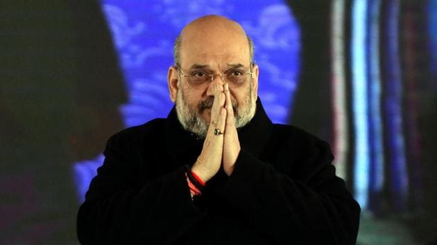 Amit Shah will also be the chief guest at the '1st Ground Breaking Ceremony of Himachal Pradesh Global Investors' Meet- 2019 in Shimla.(ANI Photo)