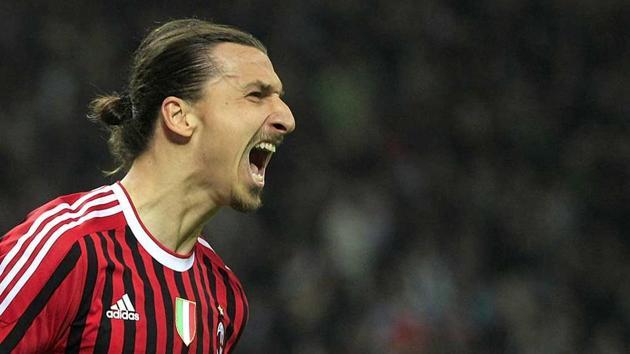 Zlatan Ibrahimovic returns to Milan.(AP)