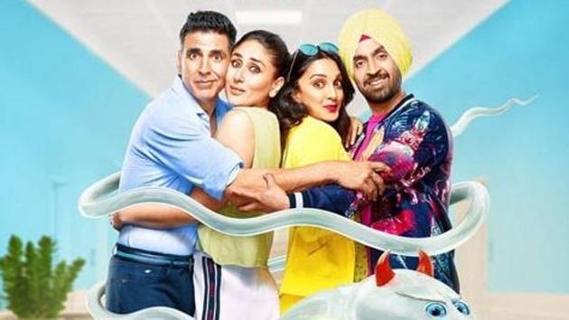 Good Newwz stars Akshay Kumar, Kareena Kapoor Khan, Kiara Advani and Diljit Dosanjh in lead roles.