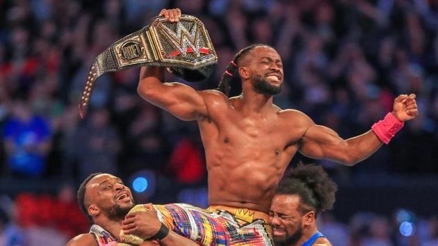 Kofi Kingston winning at WrestleMania 35 was one of the highlights of 2019.(WWE)