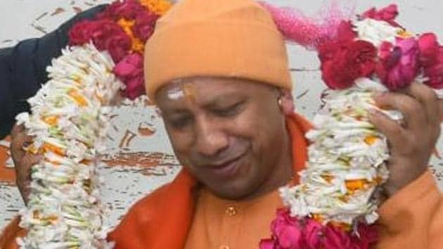In Varanasi, the chief minister said the expenditure on force deployment should also be recovered from those who tried to create chaos and anarchy in the temple town recently.(ANI Photo)