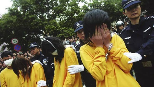 The controversial system, commonly known as 'Laojiao' in China began in the 1950s, and it used to take in minor offenders whose offence wasn't severe enough to take them to court.(Reuters File)