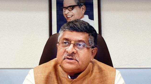 Union minister Ravi Shankar Prasad said the government was committed to going ahead with NRC, but only after undertaking due legal processes and talking to all stakeholders.(Parwaz Khan / Hindustan Times)