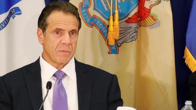 New York Governor Andrew M. Cuomo said he thought the Saturday night stabbings north of New York City on the seventh night of Hanukkah was an act of domestic terrorism and expected it to be prosecuted that way.(REUTERS)