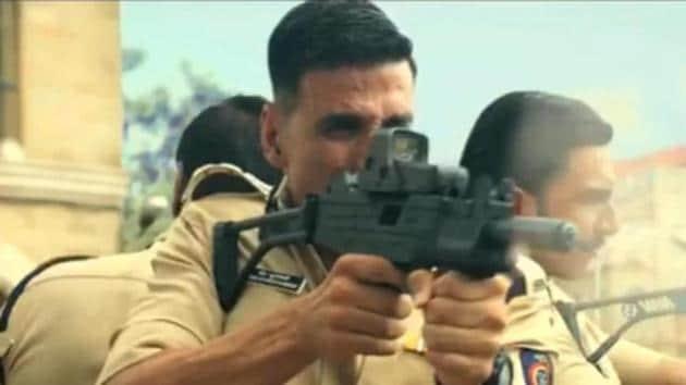 A still from Sooryavanshi featuring Ranveer Singh, Akshay Kumar and Ajay Devgn.