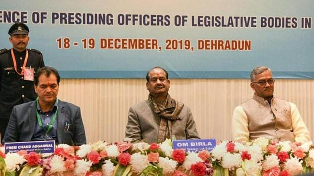 The proposal, which will be discussed threadbare during the meeting in mid-January in Lucknow, may veer around a reduced role for the speaker of the House and state assemblies in cases related to defection after some assembly speakers pointed out how the chair in various assemblies has faced criticism in recent months.(PTI)