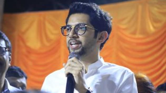 Over 30 legislators from the Shiv Sena, Nationalist Congress Party (NCP) and Congress party are also set to take oath at the Vidhan Bhavan complex at the oath event. (Photo @AUThackeray)