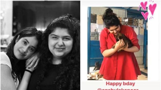 Anshula Kapoor turned 29 on Sunday (December 29).