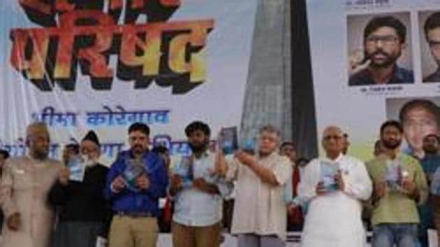 Shortly after the Bhima Koregaon clashes on New Year's Day in 2018, the Pune (urban) police opened a separate investigation into an event held in the city a day before, called the Elgar Parishad that was attended by left-wing leaders, students and artists.(HT FILE)