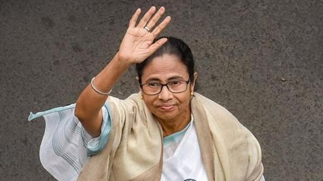 West Bengal Chief Minister Mamata Banerjee has promised to repair the church which has been vandalized in East Midnapore district .(PTI PHOTO.)