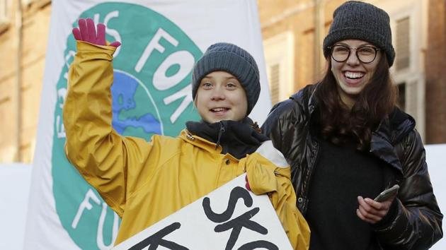 Swedish environmental activist Greta Thunberg. Greta was nominated for this year's Nobel Peace Prize, after spearheading the global movement, which also led to co-ordinated school strikes across the globe.(AP)