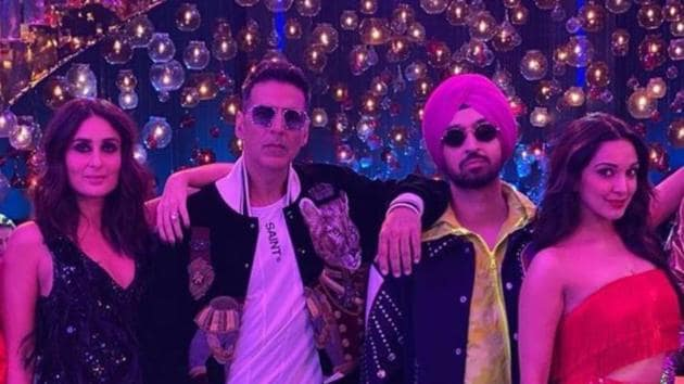 Akshay Kumar and Diljit Dosanjh teamed up for Good Newwz which also stars Kareena Kapoor and Kiara Advani.