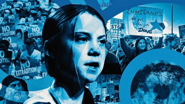 Swedish teenager Greta Thunberg(illustration: Mohit suneja)