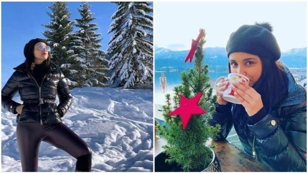 Parineeti Chopra is vacationing in Austria.