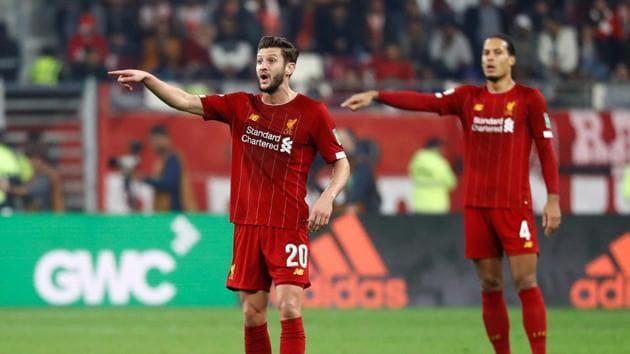 Liverpool's Adam Lallana reacts(REUTERS)