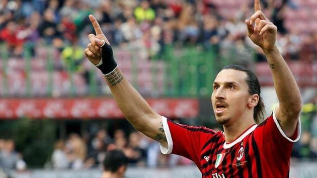 AC Milan's Zlatan Ibrahimovic(REUTERS)