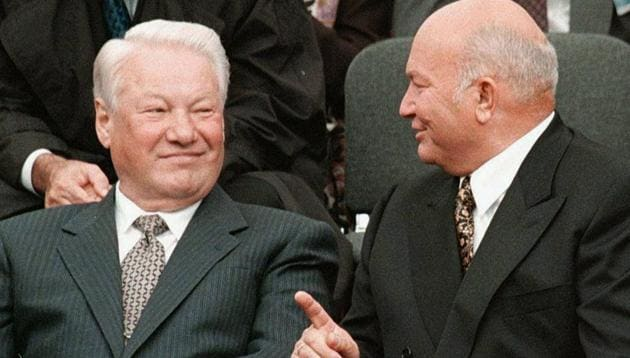 Yeltsin even with his health problems was six years older than the average Russian male's life expectancy of 58.(AP)