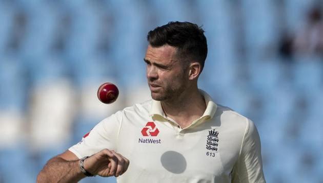 England's bowler James Anderson(AP)