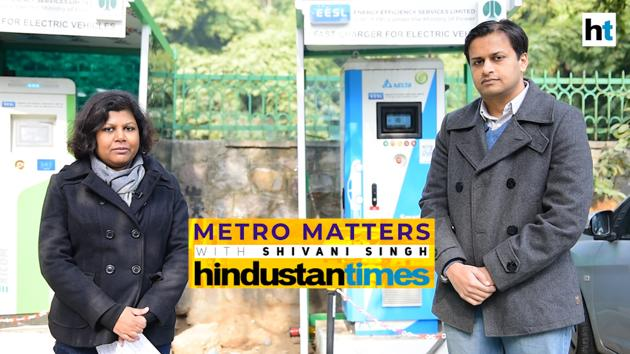 In this episode of Metro Matters, Hindustan Times' metro editor Shivani Singh speaks to Jasmine Shah, vice chairperson on the Dialogue and Development Commission of Delhi, about the city's electric vehicle policy that aims to reduce vehicular pollution and improve mobility. The EV policy, which has been drafted by the commission and cleared by the Delhi cabinet last week, offers subsidies and waivers on road tax and registration fee for the purchase of new e-vehicles in the city. Shah explains how the policy, which will be notified soon, is focused on promoting electric two-wheelers, shared vehicles, freight and last-mile delivery vehicles, and e-buses. He gives details of the subsidies and exemptions, provisions to set up charging infrastructure and government's plans to tap renewable energy to power e-vehicles in the city.
