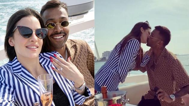 Natasa Stankovic got engaged to Hardik Pandya in Dubai.