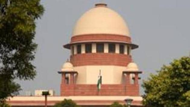 The Uttar Pradesh government on Tuesday denied media reports that it has identified five options for a five-acre land to build a mosque in Ayodhya as per the Supreme Court ruling in the Ram Janmabhoomi-Babri Masjid case.(Amal KS/HT PHOTO)