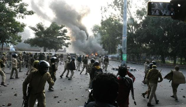 Widespread anti-CAA violence erupted across UP on December 20, 2019.(HT File)