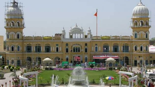 On Friday evening, an angry group of local residents pelted stones at the Gurdwara Nankana Sahib in Pakistan.(Twitter/ @khalsastore. File Pho)