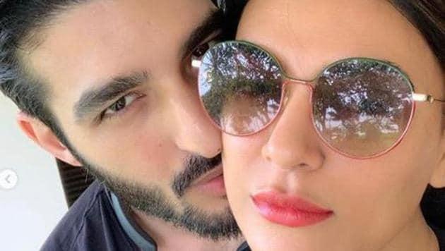 Sushmita Sen has shared gorgeous pictures and a warm note on boyfriend Rohman Shawl's birthday.