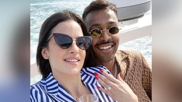 Hardik Pandya and Natasa Stankovic kickstarted 2020 with a bang, by getting engaged.