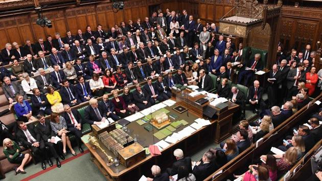 A campaign group has called for ending the practice of reciting Christian prayers in the UK parliament.(AFP Photo/File)