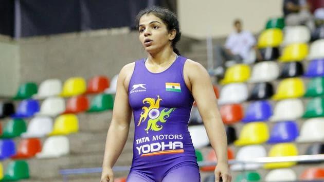 India wrestler Sakshi Malik(PTI)