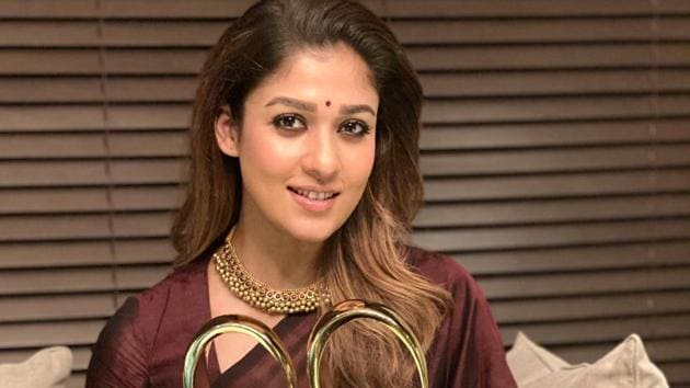 Zee Cine Awards Tamil 2020: Nayanthara was given an award for her performance in Viswasam.