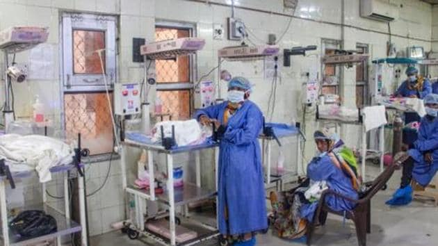 Rajasthan government has stepped up efforts to control infant deaths at Kota's JK Lon hospital.(PTI Photo)
