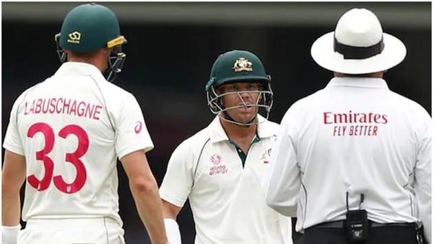 David Warner was not pleased with the decision(cricket.com.au)