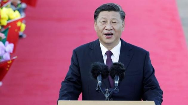 File photo of Chinese President Xi Jinping(REUTERS)